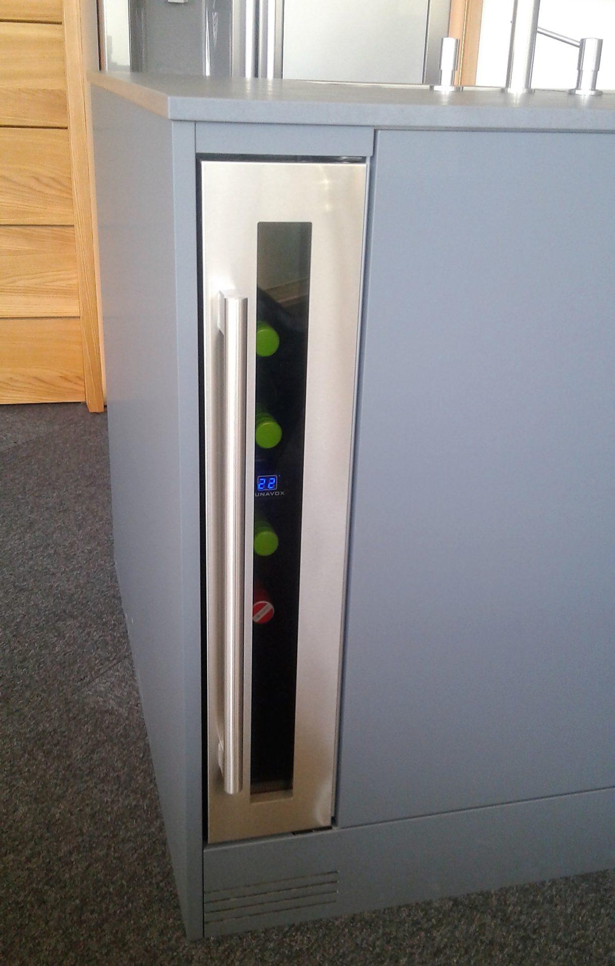 Der kleine Luxus in jeder Küche: Weinkühlschrank - Design vom Grein